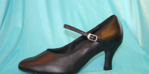 Lady Leather Court Shoe