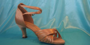 Lady Flesh Sandal 1686F Heel 2.5″