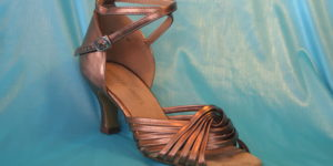 Lady Bronze Open Toe Sandal 1686Br